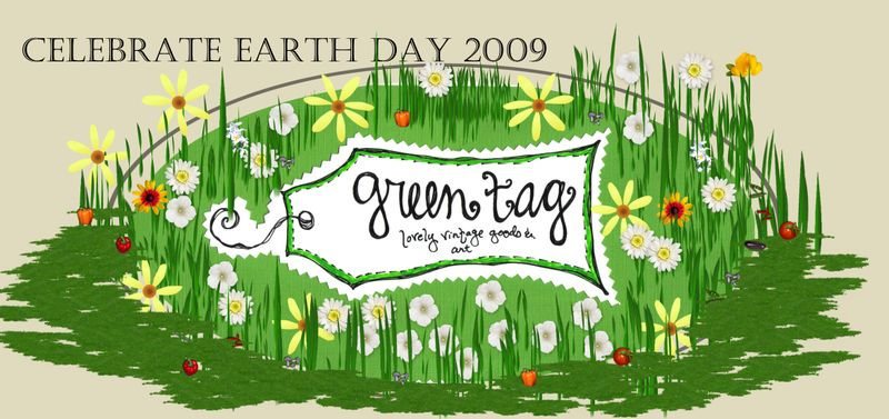 Earthday greentag