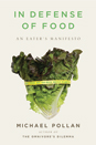 Michael Pollan In defense of food image