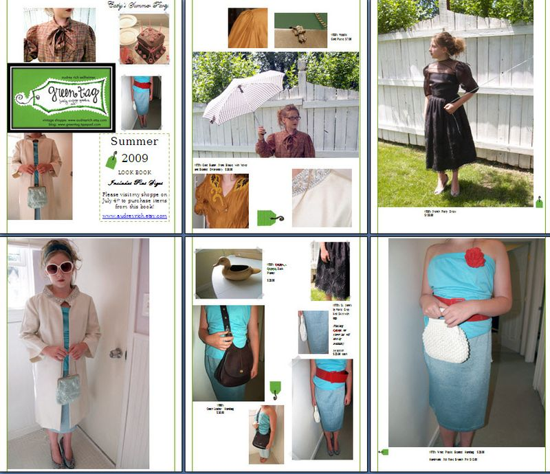 Greentag Vintage Summer 09 Look Book